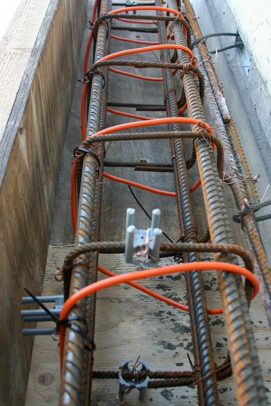 Прогрев бетона зимой: зимнее бетонирование, заливка, фото