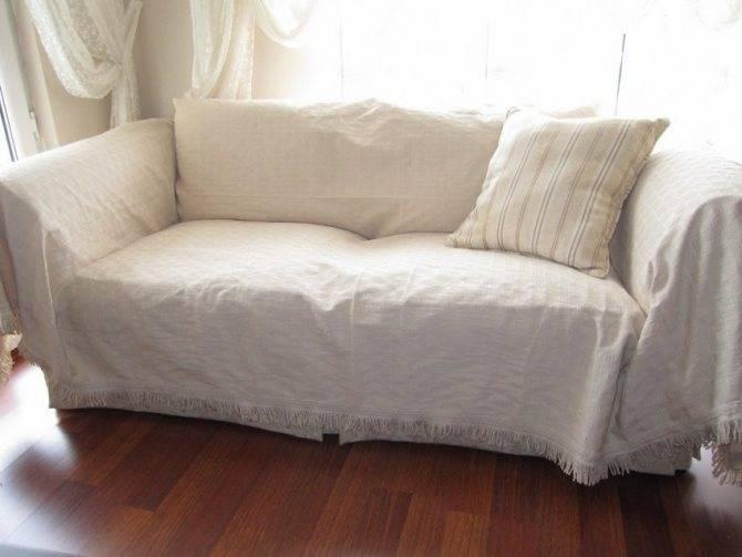 Чехлы на диваны и кресла (60 фото): безразмерные на резинке, натяжные модели на угловой и для мешка, съемные на мебель без подлокотников, отзывы