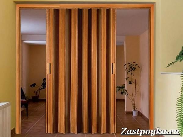 Обзор шкафов гармошек: выбор для спальни, гостиной, прихожей