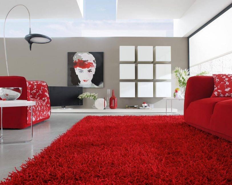 Ковер в гостиную — главные критерия выбора и успешные фото идеи современного дизайна