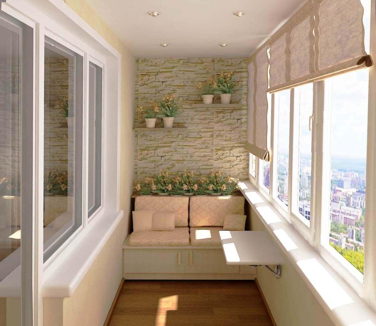Внутренняя отделка балкона (лоджии). чем? подскажите