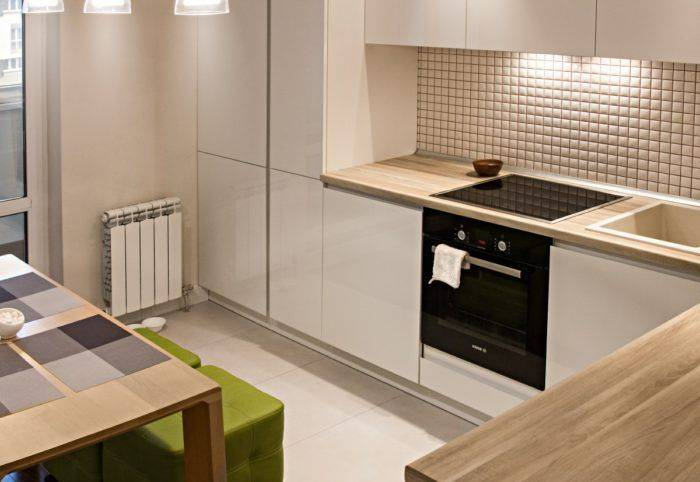 Светлая кухня с темной столешницей: 50 фото интерьеров, темная кухня с такой же столешницей