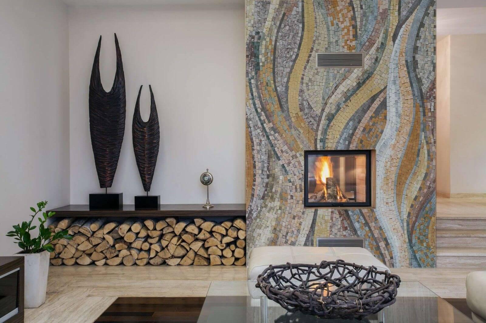 Мозаика из битой плитки своими руками: орнамент, схемы, техника + фото и видео