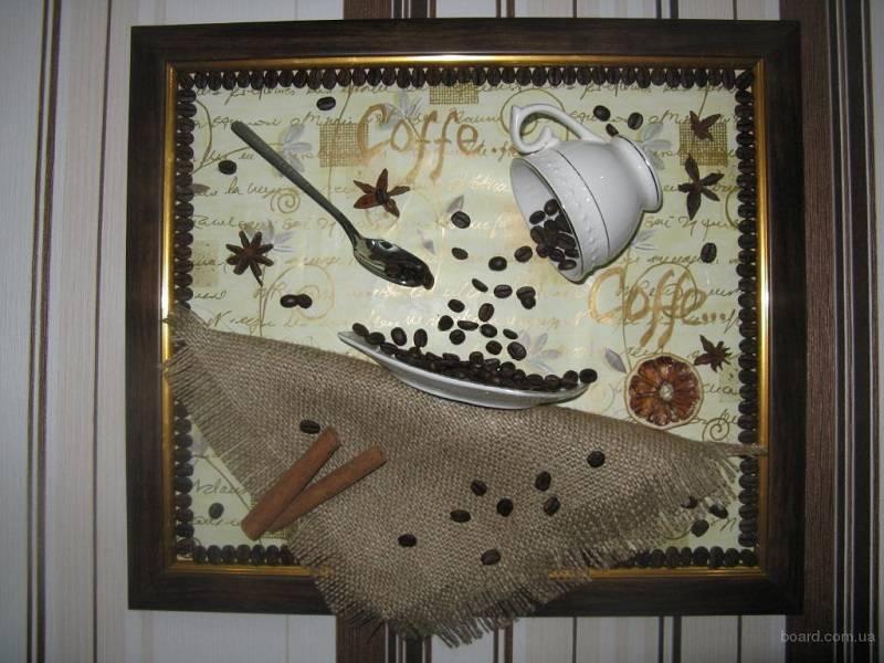 Интерьер кухни с декоративным панно своими руками