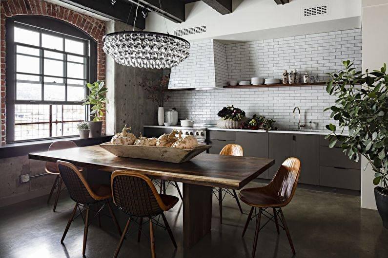 Делаем полы на кухне: обзор и сравнение 6-ти различных напольных покрытий