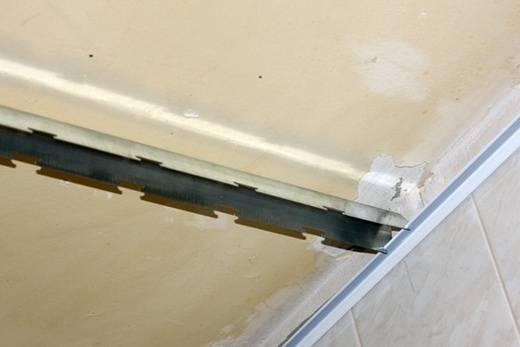 Реечный потолок в ванной комнате: как установить своими руками