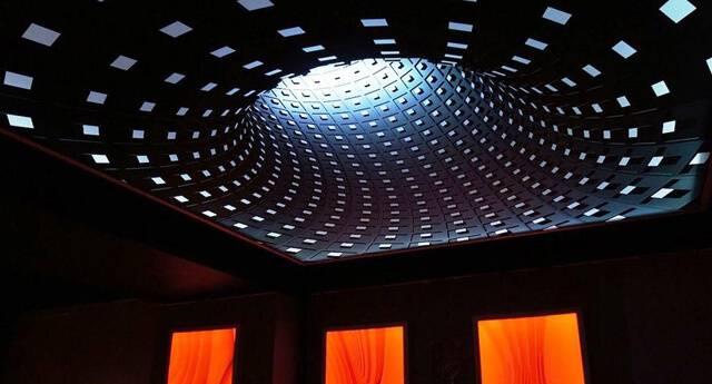 Натяжные потолки 3d (3д), с фотопечатью и перфорацией (10 фото)