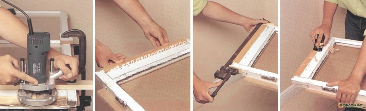 Ремонт старых деревянных окон своими руками: технология по шагам