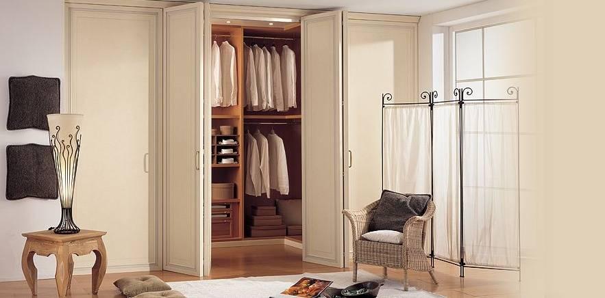 Как выбрать двери-купе в гардеробную?