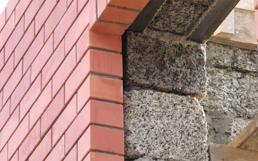 Опилкобетон своими руками - пропорции строительства дома и бани блоками из опилок и цемента, плюсы и минусы