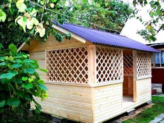 Обрешётка веранды: решётка из дерева или реек своими руками на даче, фото и чертежи декоративной деревянной обрешётки