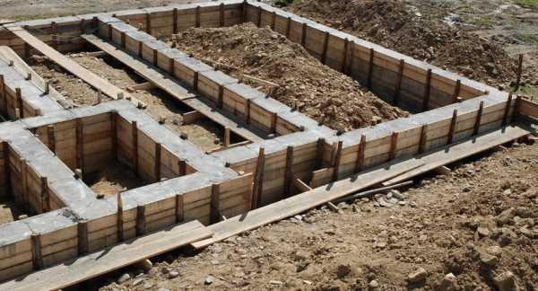 Ленточный фундамент глубина заложения и на какую копать
