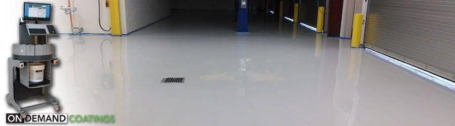 Полимерное покрытие для бетонного пола: виды, советы по выбору и устройству