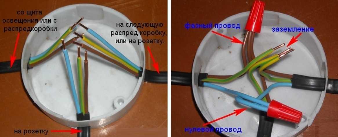 Соединение кабелей разного сечения - всё о электрике в доме