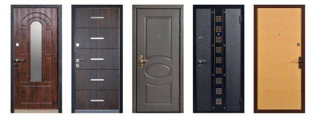 Входные металлические двери для частного дома
