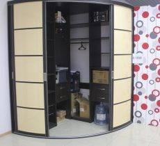 Радиусные шкафы: 135 фото как сделать своими руками. видео примеры стильных и функциональных моделей