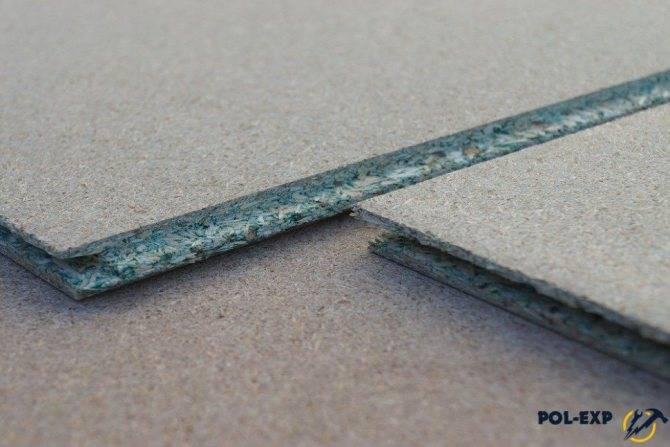 Дсп шпунтованная влагостойкая укладка на бетон