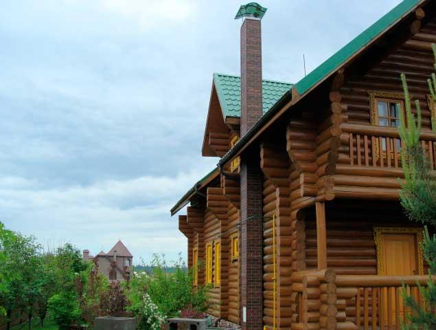 Устройство дымохода в деревянном доме