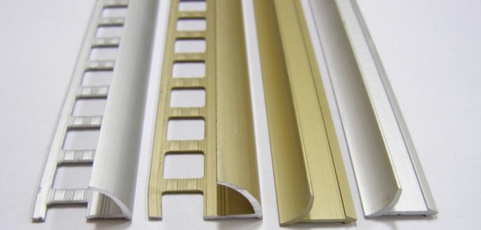 Алюминиевые или пластиковые уголки для керамической плитки