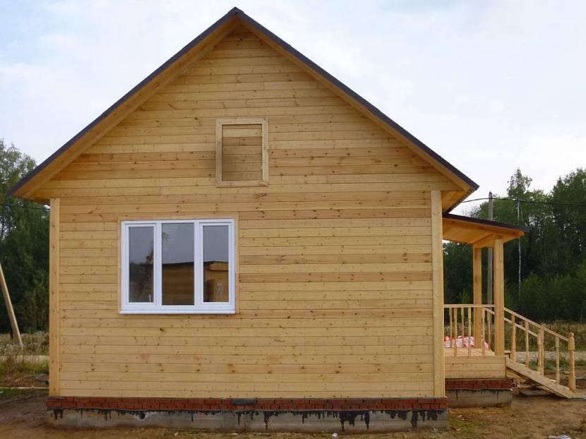 Как построить надежный и недорогой каркасный дом для дачи