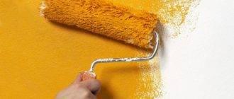 Валик для покраски потолка: разновидности, какой лучше выбрать?