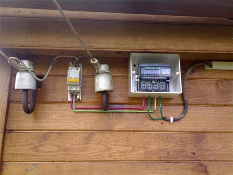 Схема электропроводка на даче своими руками