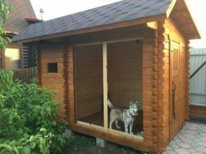 Как сделать вольер для собаки - пошаговая инструкция по строительству (120 фото-идей)