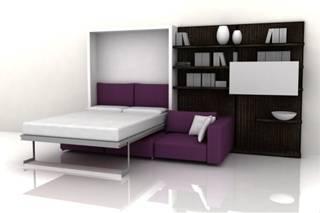Мебель трансформер для малогабаритной квартиры: кровать, диван, стол, шкаф, комод