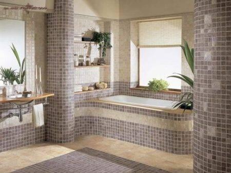 Как клеить мозаику на сетке - всё о керамической плитке