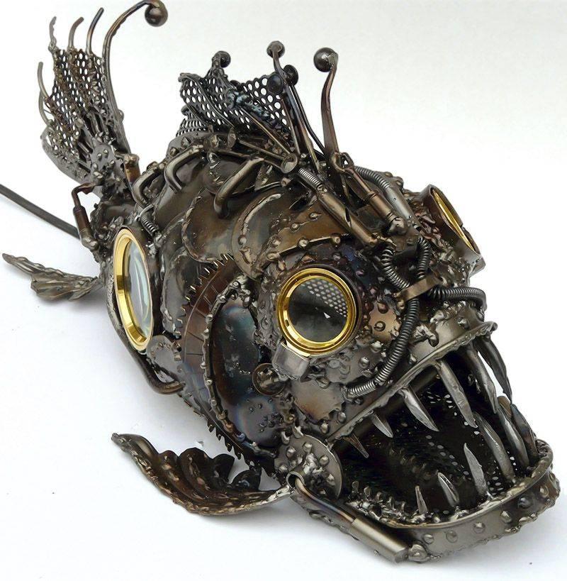 Поделки из металла: прикольные идеи, простые сувениры из железа своими руками