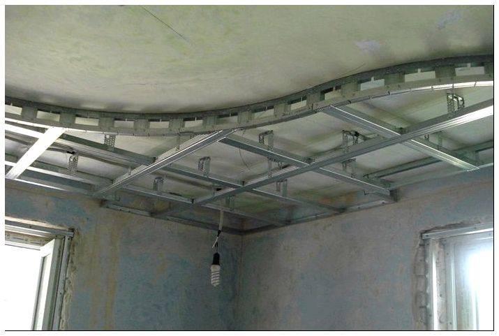 Как сделать многоуровневые потолки из гипсокартона своими руками - myprofnastil