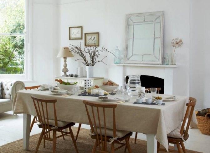 Сшить скатерть на прямоугольный стол своими руками: пошаговая инструкция