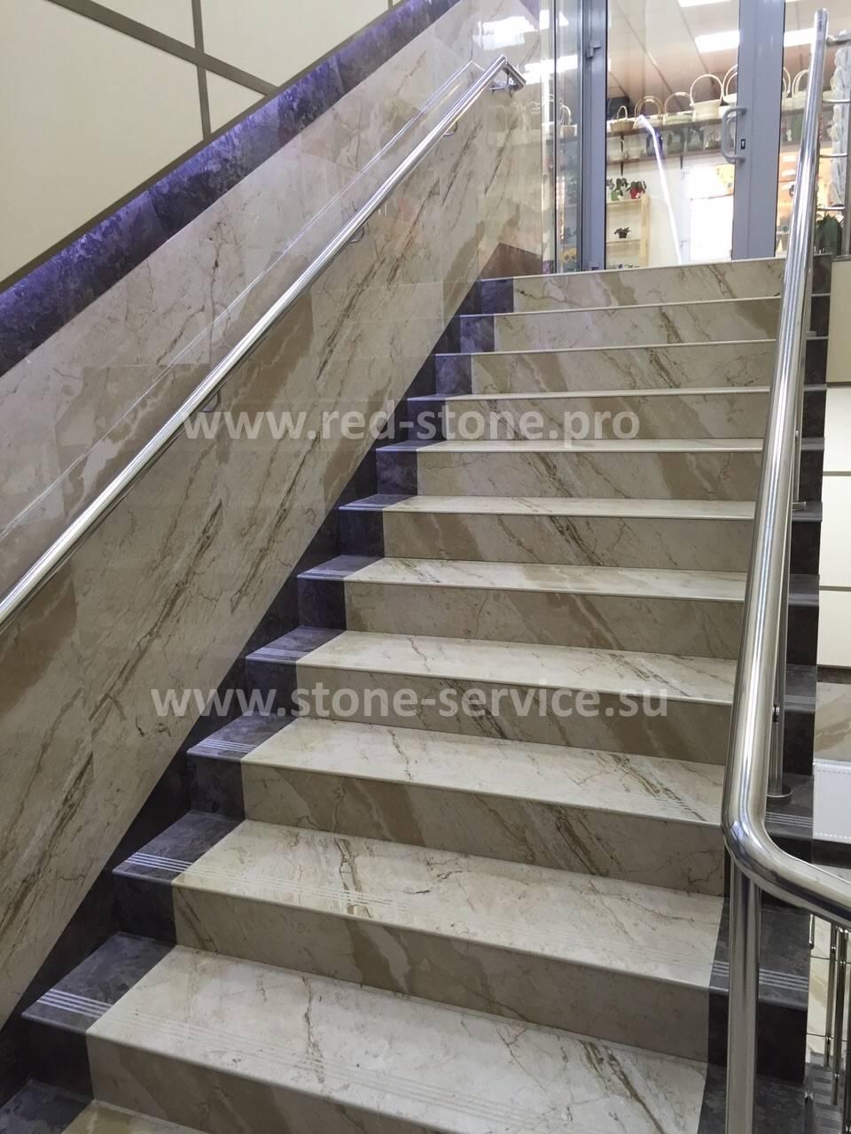 Лестница из керамогранита: надежно укрепляем ступени - все про керамическую плитку