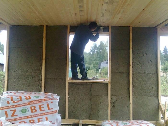 Утепление веранды в деревянном доме своими руками