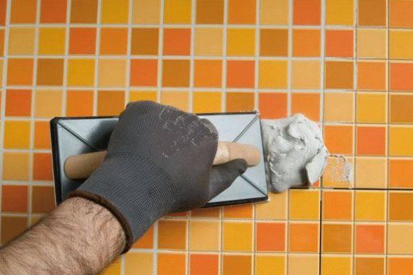 Затирка для плитки: особенности подбора цвета и фактуры. правила нанесения материала (90 фото)