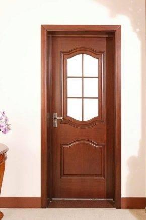 Двустворчатые распашные межкомнатные двери: за и против