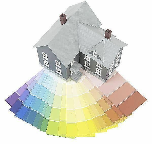 Фасадная краска для наружных работ: окраска зданий, расход на м2, расценки
