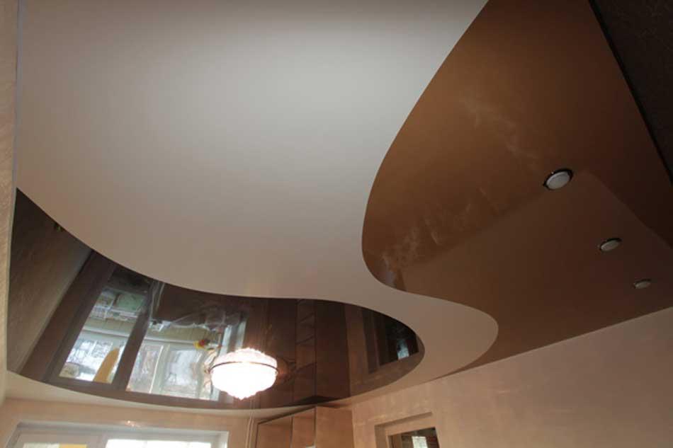 Цветные натяжные потолки в интерьере: подбор, сочетание цветов