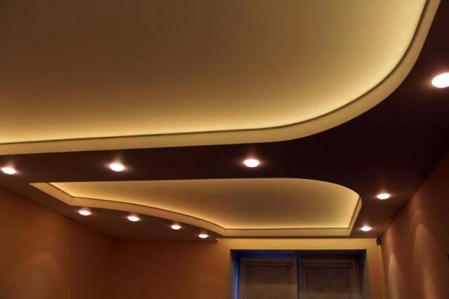Как самому сделать подсветку потолка по периметру?