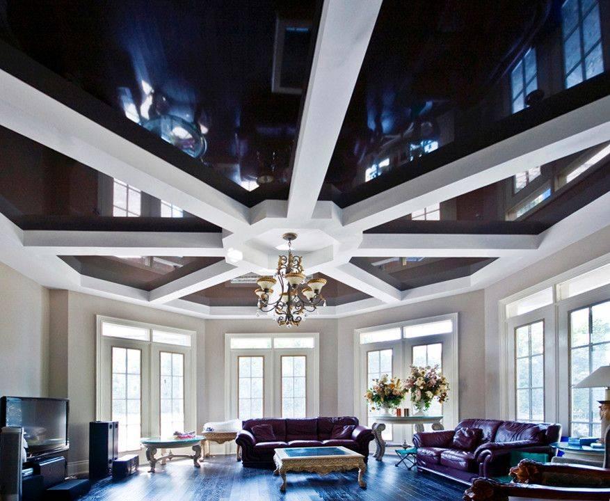 Какой потолок лучше сделать в хрущевке?