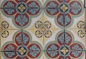 Метлахская плитка: особенности материала | дом мечты