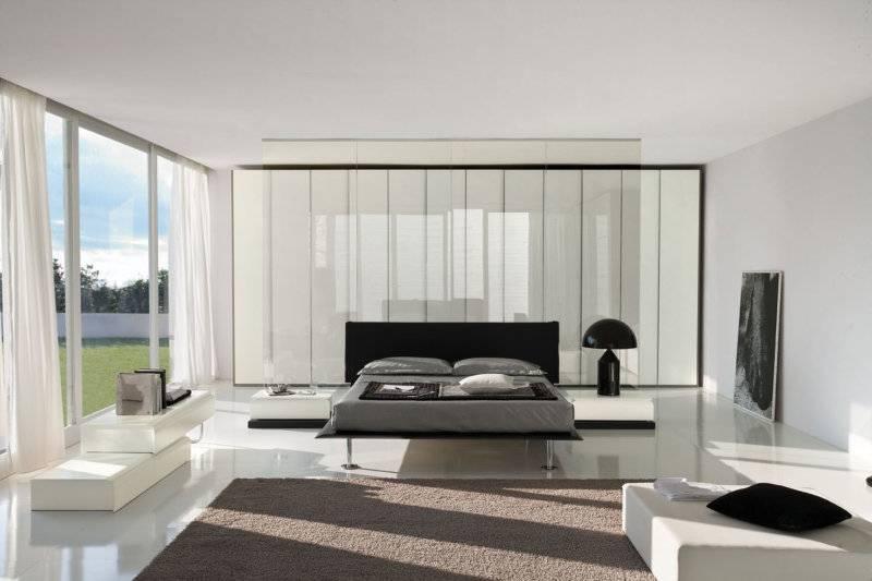 Комбинированные шторы из 2х цветов для гостиной, спальни и зала с переходом, из двух полотен - 43 фото