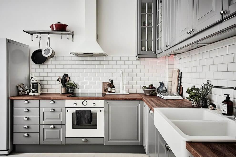 Идеи для фартука на кухне