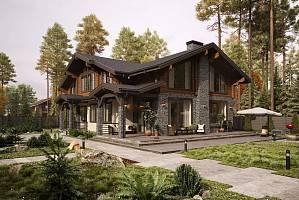 Из чего построить комбинированный дом