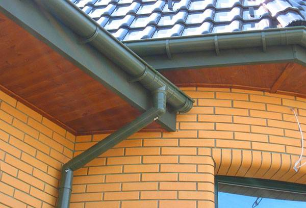 Как установить водостоки, если крыша уже покрыта? инструкции по монтажу