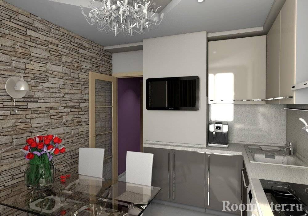 Дизайн двухкомнатной квартиры серии п44т +75 фото идей