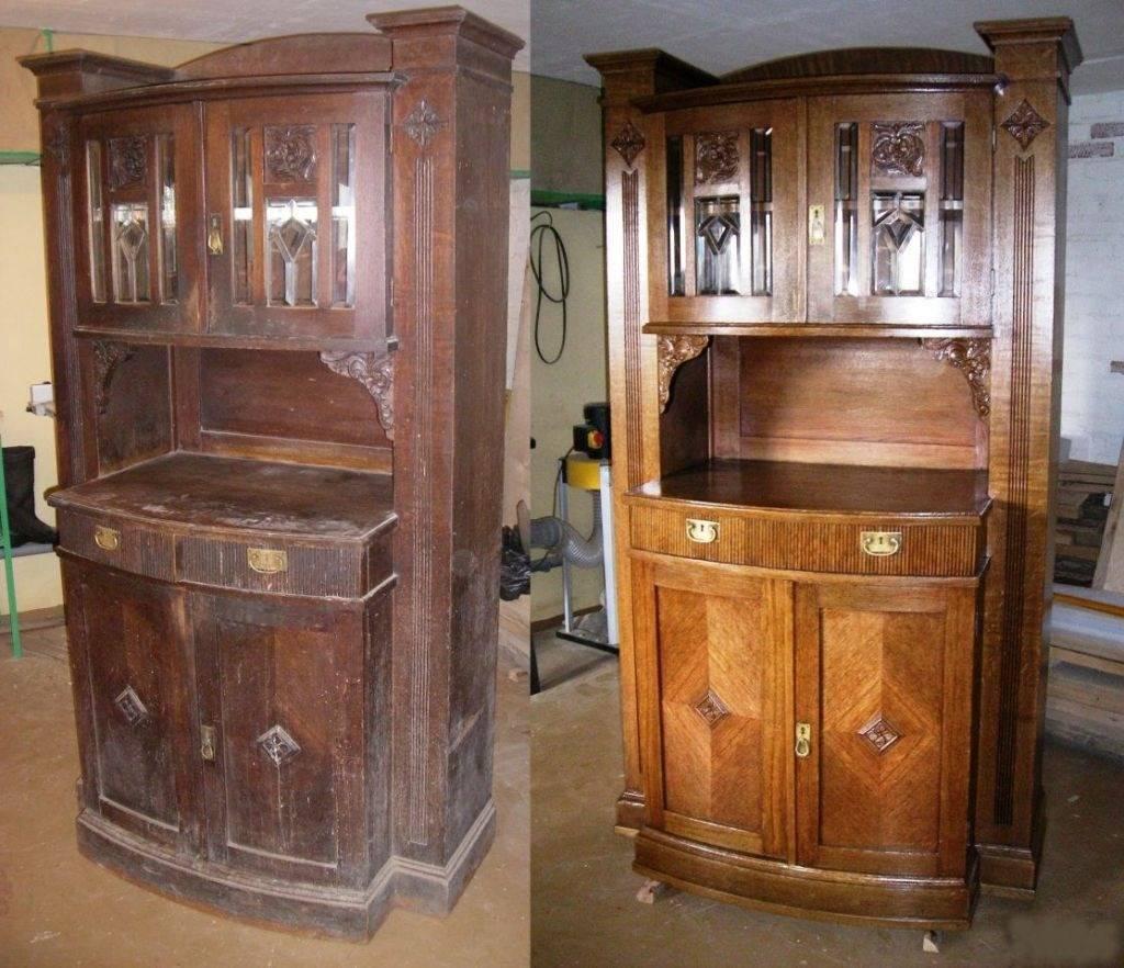 Старинные буфеты: примеры в интерьере и идеи реставрации