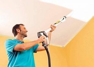 Каким валиком лучше красить водоэмульсионной краской потолок? какой вариант нужен для покраски, как выбрать валик для стен