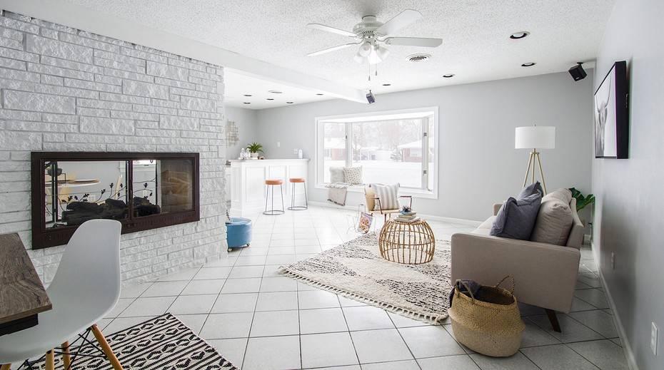 Дизайн гостиной в скандинавском стиле: 6 главных принципов оформления