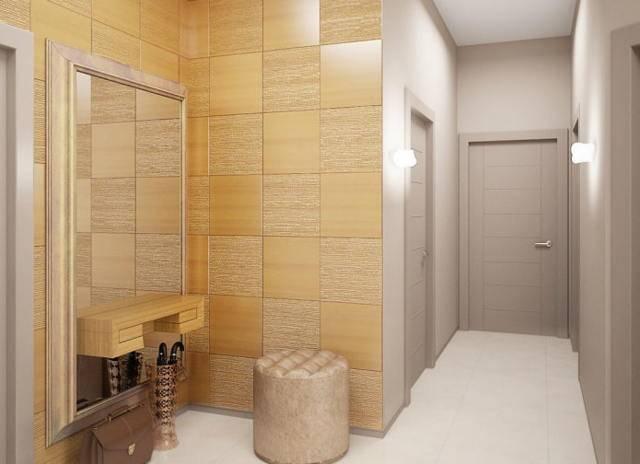 Дизайн коридора в квартире: 124 фото (реальные) и идеи